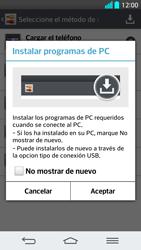 Comparte la conexión de datos con una PC - LG G2 - Passo 7