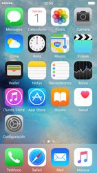 Activa o desactiva el uso del código de seguridad - Apple iPhone 5c - Passo 1