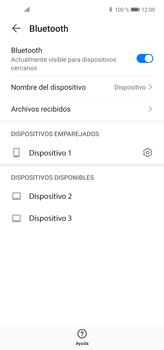 Conecta con otro dispositivo Bluetooth - Huawei P40 Lite - Passo 7