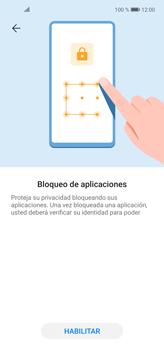 Cómo habilitar la función Bloqueo de aplicaciones - Huawei P40 Lite - Passo 5