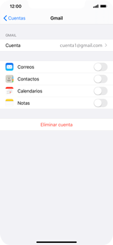 Desactivar la sincronización automática - Apple iPhone 11 - Passo 9