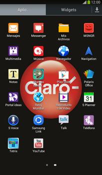 Envía fotos, videos y audio por mensaje de texto - Samsung Galaxy Tab 3 7.0 - Passo 2