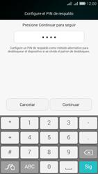 Desbloqueo del equipo por medio del patrón - Huawei G Play Mini - Passo 11