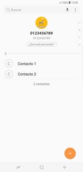 ¿Tu equipo puede copiar contactos a la SIM card? - Samsung Galaxy S8+ - Passo 5