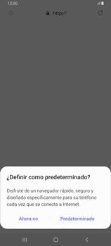 Configura el Internet - Samsung Galaxy A80 - Passo 22