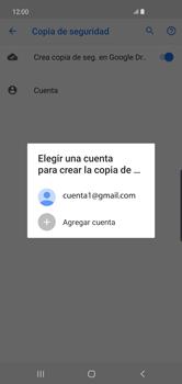 Realiza una copia de seguridad con tu cuenta - Samsung S10+ - Passo 9