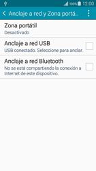 Comparte la conexión de datos con una PC - Samsung Galaxy A3 - A300M - Passo 6