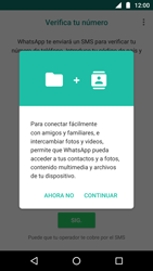 Configuración de Whatsapp - Motorola Moto G5 - Passo 5