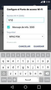 Configura el hotspot móvil - LG V10 - Passo 7