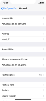 Verificar el uso de datos por apps - Apple iPhone X - Passo 5