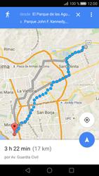 Uso de la navegación GPS - Huawei P8 - Passo 18