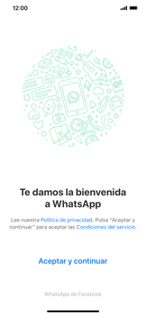 Configuración de Whatsapp - Apple iPhone 11 - Passo 4