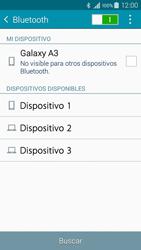 Conecta con otro dispositivo Bluetooth - Samsung Galaxy A3 - A300M - Passo 6