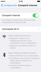 Comparte la conexión de datos con una PC - Apple iPhone 5s - Passo 6