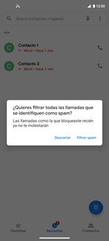 Cómo bloquear llamadas - Motorola Moto G9 Plus - Passo 7