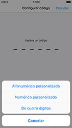 Activa o desactiva el uso del código de seguridad - Apple iPhone 7 - Passo 5