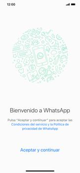 Configuración de Whatsapp - Apple iPhone XS Max - Passo 6