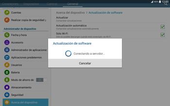 Actualiza el software del equipo - Samsung Galaxy Note Pro - Passo 9