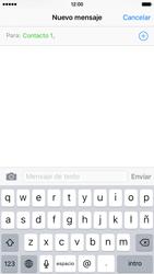 Envía fotos, videos y audio por mensaje de texto - Apple iPhone 6 - Passo 6