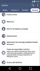 Limpieza de aplicación - LG K10 - Passo 4