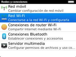 Configura el WiFi - BlackBerry Curve 9320 - Passo 5