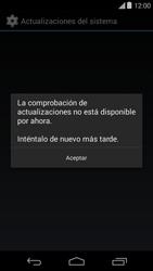 Actualiza el software del equipo - Motorola Moto E (1st Gen) (Kitkat) - Passo 7