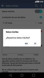 Desactiva tu conexión de datos - LG K10 - Passo 5