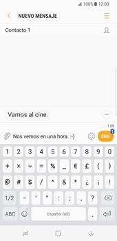 Envía fotos, videos y audio por mensaje de texto - Samsung Galaxy S8 - Passo 11