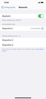 Conecta con otro dispositivo Bluetooth - Apple iPhone 11 - Passo 6