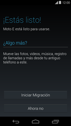 Activa el equipo - Motorola Moto E (1st Gen) (Kitkat) - Passo 9