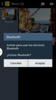 Transferir fotos vía Bluetooth - Samsung Galaxy Note Neo III - N7505 - Passo 11