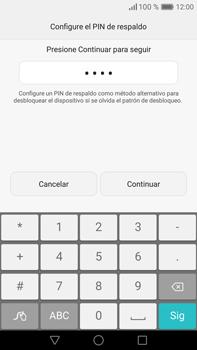 Desbloqueo del equipo por medio del patrón - Huawei Mate 8 - Passo 11