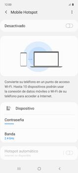 Configura el hotspot móvil - Samsung Galaxy A51 - Passo 7