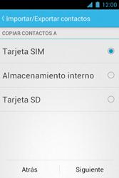 ¿Tu equipo puede copiar contactos a la SIM card? - Motorola RAZR D1 XT914 - Passo 7