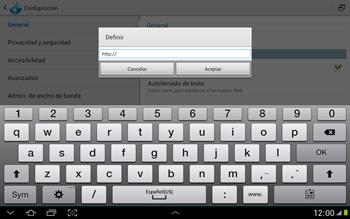 Configura el Internet - Samsung Galaxy Note 10-1 - N8000 - Passo 24
