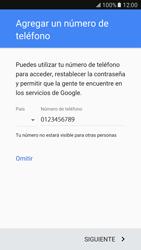 Crea una cuenta - Samsung Galaxy S7 - G930 - Passo 13
