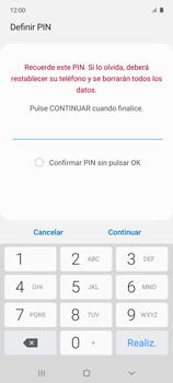Habilitar seguridad de huella digital - Samsung Galaxy A51 - Passo 8