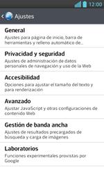 Configura el Internet - LG Optimus L5 II - Passo 21
