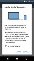 Comparte la conexión de datos con una PC - Sony Xperia XZ Premium - Passo 6