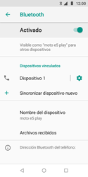 Conecta con otro dispositivo Bluetooth - Motorola Moto E5 Play - Passo 10