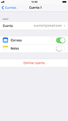 Configura tu correo electrónico - Apple iPhone 8 - Passo 28