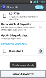 Conecta con otro dispositivo Bluetooth - LG Optimus L 7 II - Passo 9