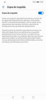 Realiza una copia de seguridad con tu cuenta - Huawei Mate 20 Lite - Passo 7