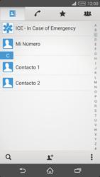 ¿Tu equipo puede copiar contactos a la SIM card? - Sony Xperia Z2 D6503 - Passo 4