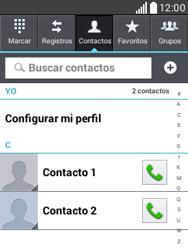 ¿Tu equipo puede copiar contactos a la SIM card? - LG L20 - Passo 4