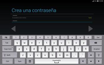 Crea una cuenta - Samsung Galaxy Note Pro - Passo 11