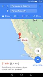 Uso de la navegación GPS - Huawei Cam Y6 II - Passo 17