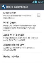 Configura el hotspot móvil - LG Optimus L7 - Passo 5