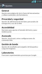 Configura el Internet - LG Optimus G Pro Lite - Passo 22