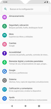 Restaura la configuración de fábrica - Motorola Moto G8 Play (Single SIM) - Passo 4